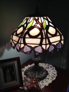 Art Nouveau lamp shade